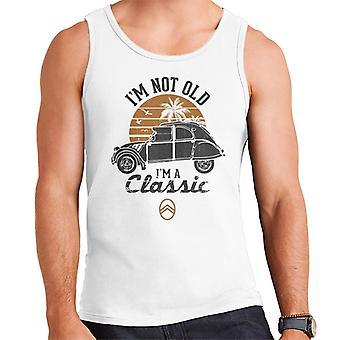 Citro?n 2CV Black I'm Not Old Classic Sunset Men's Vest