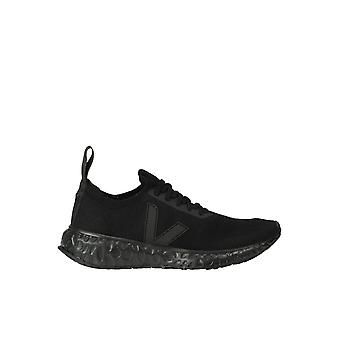 Rick Owens Ezgl072001 Women's Black Fabric Sneakers