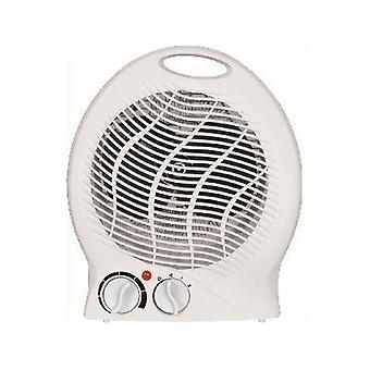 2kW Vzpriamený biely ohrievač ventilátora Elektrické 2 Nastavenie tepla 1000W/2000W