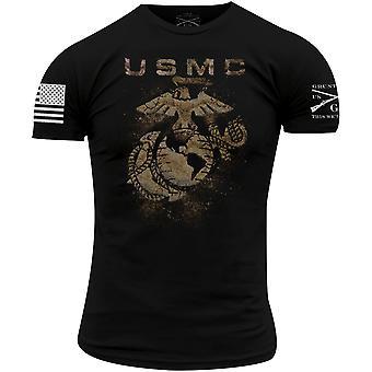 Grunt Style USMC - Hiekkalaatikko T-paita - Musta