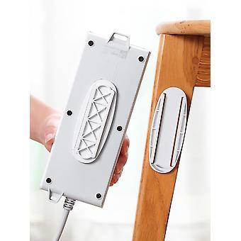 棚電源プラグ/ソケットホルダー/ラック、自己接着壁取り付け電源ソケット