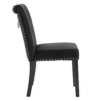 1pcs Velvet Chairs Dining Room