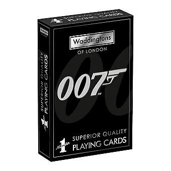 James Bond Waddingtons No.1 Playing Cards
