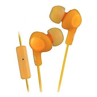 JVC HA-FR6 - Remote-controlled in-ear earbuds - Orange