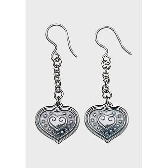 Kalevala Earring Women's Eura Heart Silver 2610951K