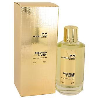 Mancera roseaoud & musc eau de parfum spray por mancera 536902 120 ml