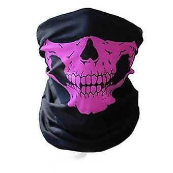 Men Scarf Halloween Ride Bandana Women Head Scarf Ski Skull Half Face Mask