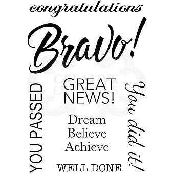 Woodware Clear Stamps - Bravo