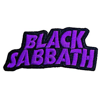 Black Sabbath Patch Cut Out Wavy Band Logo new Official