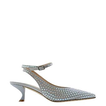 Eddy Daniele Es21137sasso Women's Grey Suede Sandals