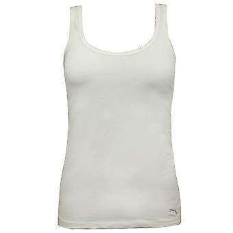 Puma Womens Tank Top Sleeveless Gym Vest Blanc 491206 300 M12