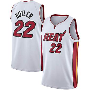 Miami Heat No.22 Jimmy Butler Loose Basketball Jersey Sportshirts 3QY014