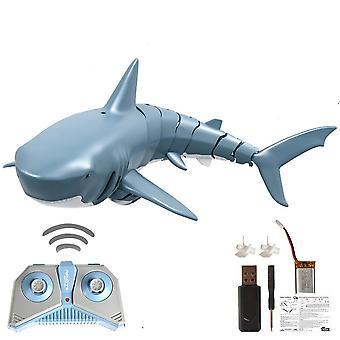 2.4g التحكم عن بعد سمك القرش قارب usb قابل لإعادة الشحن للعبة
