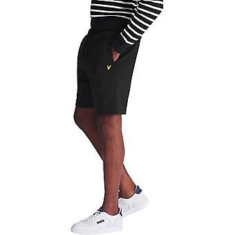 מכנסי טרנינג לייל & סקוט שחור 02