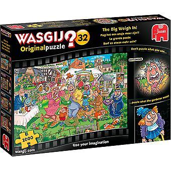 Jumbo Wasgij Original 32 - The Big Weigh In 1000 Piece Jigsaw Puzzle