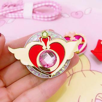 Universal Sailor Moon Telefoon Stretch Bracket Cartoon Vinger RingHouder Socket