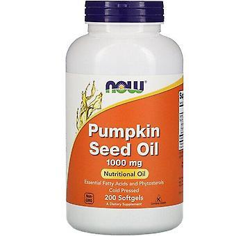 Now Foods, Pumpkin Seed Oil, 1,000 mg, 200 Softgels