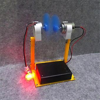 DIY Vindmølle Generator Model Science Education Experiment Fysisk Undervisning Tool Creative Legetøj