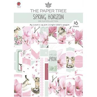The Paper Tree - Spring Horizon Collection - A4 - Die Cut Sheets