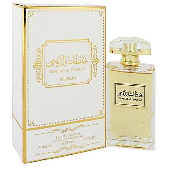 Khaltat Al Dhahabi Eau De Parfum Spray (Unisex) By Nusuk 3.4 oz Eau De Parfum Spray