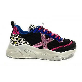 Shoes Women Munich Sneaker Running Mod. Wave 15 In Multicolor Leather 015 Ds20mu05