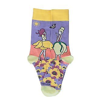 Flower Fairies in the Garden Socks from the Sock Panda