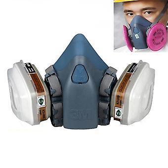 Schilderij Spuiten Chemcial Safety Work Gas Mask