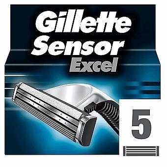 Gillette Sensor Excel Razor Blades 5 units
