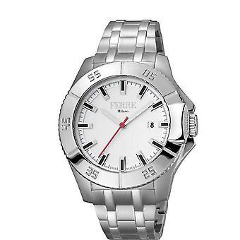 Ferre Milano White Dial Men's Watch FM1G085M0051