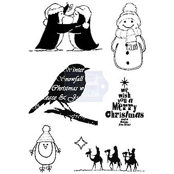 Sweet Dixie Clear Stamps - Christmas Selection 4