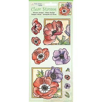 Jeje Marij Rahder Clear Stamps Poppy