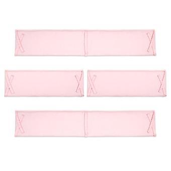 Baby Bed, Solid Color Cotton Crib, Infant Bumper, Strip Cradle, Anti-collision,