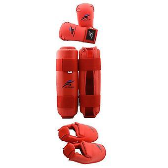 Leg Hand Foot Protector, Taekwondo Sparring Gear Set, Shin Guard, Women Bands,