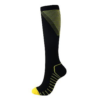 Running Color-printed V-shaped Pressure Socks