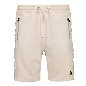 Luke | M590344 Retriever Debossed Side Logo Shorts - Ecru