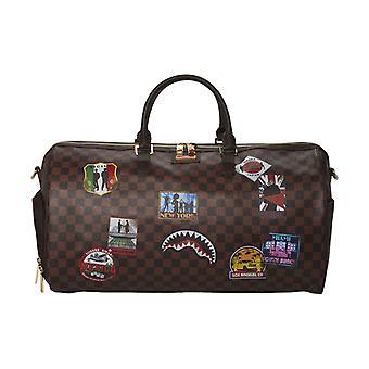 Sprayground International Travel Patches Duffle Bag