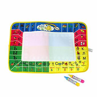 Magic doodle mat educational kids water drawing toys gift kt-17