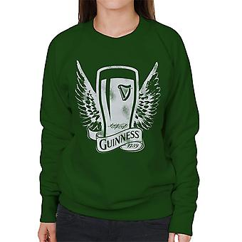 Guinness Vintage Pint With Wings Women's Sweatshirt