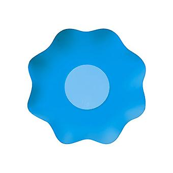 Double Blue 16cm Shaped Paper Party Bowls