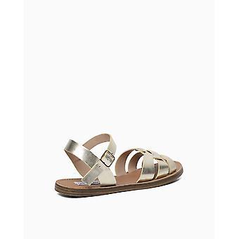 Steve Madden dame Bettina åben tå casual slingback sandaler