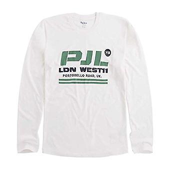Pepe Jeans Joris T-Shirt, (off White 803), Medium Men