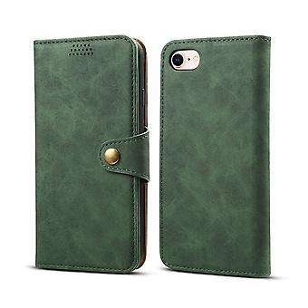 Wallet leather case card slot for samsung s10plus dark green no2799