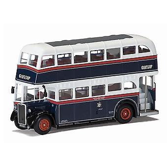 Crossley DD42 Glossop Diecast Model Bus