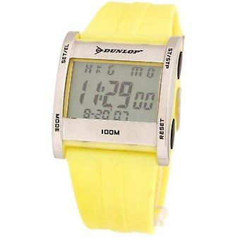 Dunlop digital quartz watch yellow dun-39-g010