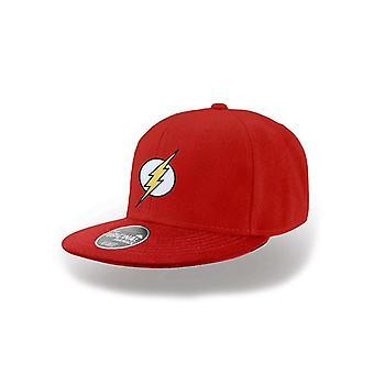 Flash Unisex Adults Logo Snapback Cap