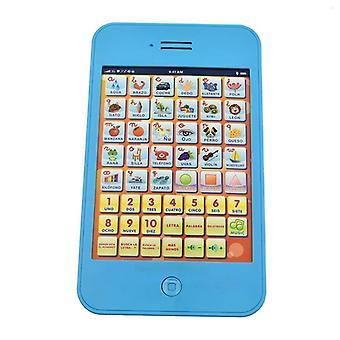 Nouvelle étude espagnole Table Learning Machine Touch Voice Éducatif Enfants Toy