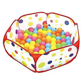 uusi gr0043b-100cm lapset playpen vauva pallo kuoppa kannettava uima-allas lapsi pelata teltta koripallo vanne sm16593