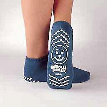 Principe Business Enterprises Slipper Sokken Pillow Paws Jeugd Lichtblauwe Enkel Hoog, Lichtblauw 1 Paar