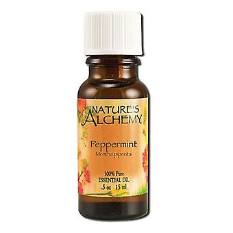 Natures Alchemy Pure Essential Oil Peppermint, 0.5 Oz