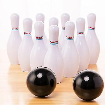 ny plast bowling spille sett innendørs utendørs spill foreldre interaktiv leketøy sm32914